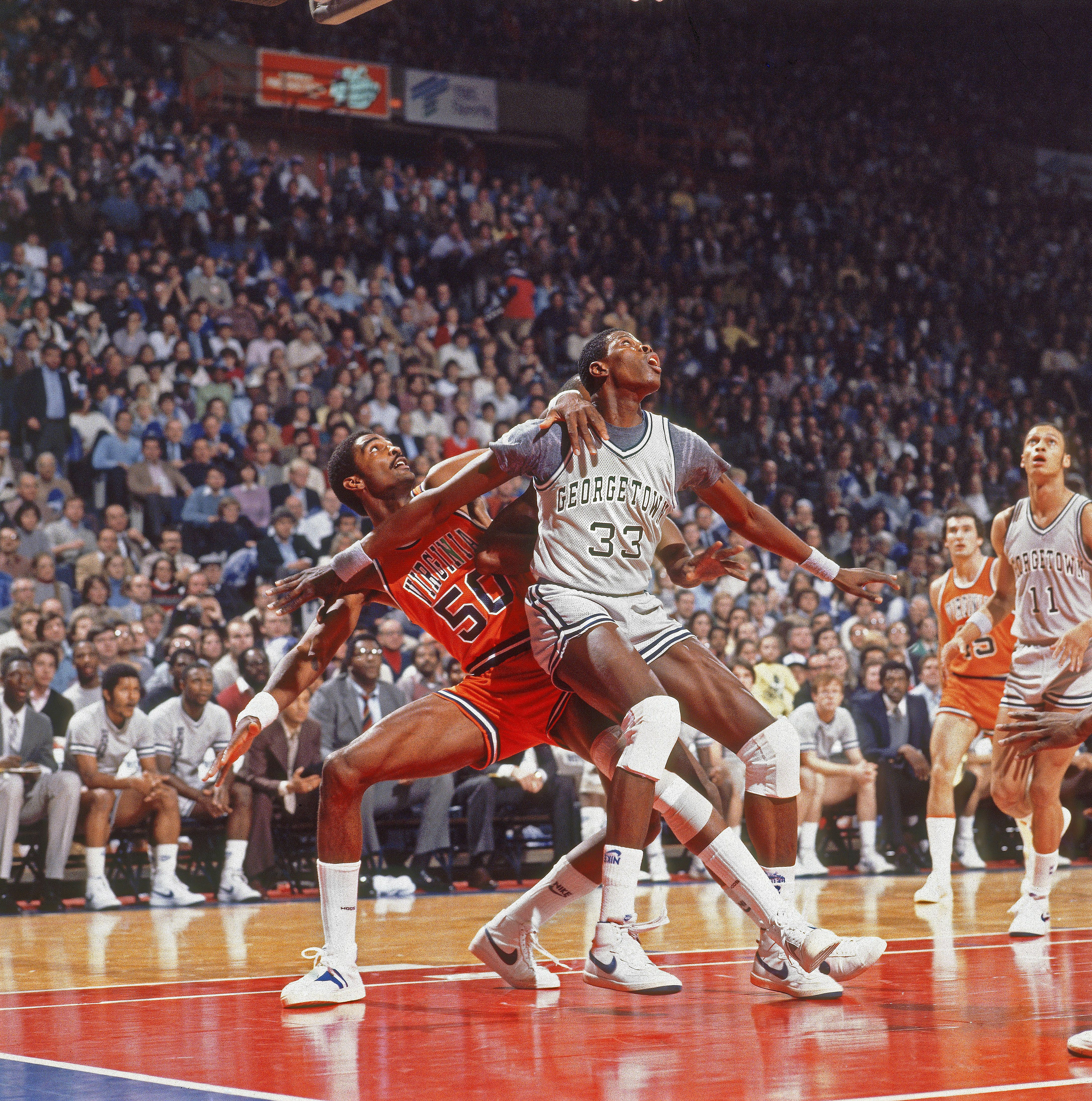 Ralph Sampson Virginia vs Patrick Ewing Geor own