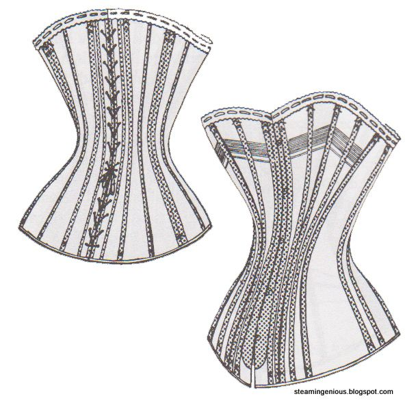 Steam Ingenious: Corded Corset from Antique Pattern | COSTUMING 1700 ...