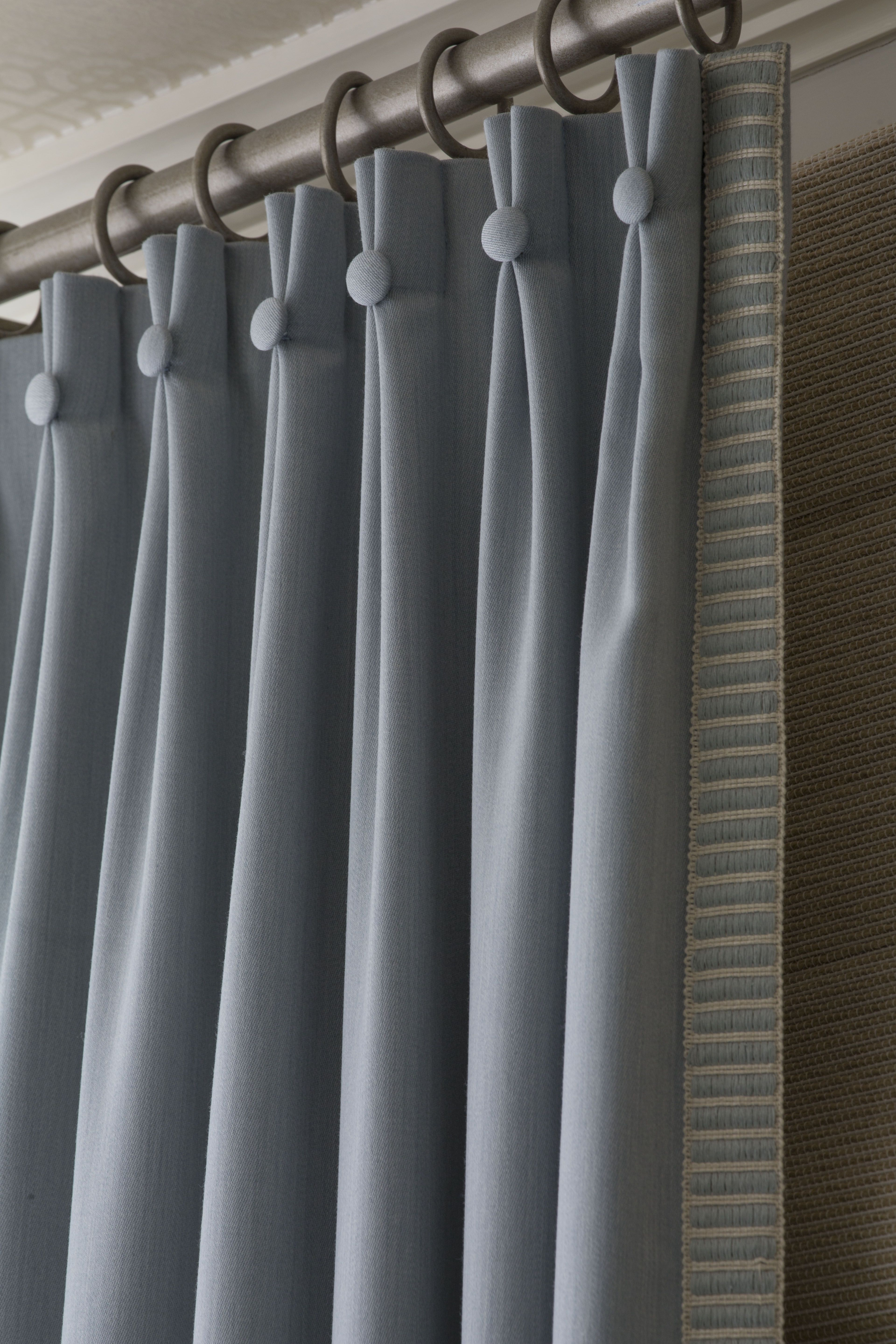 2017 06 types of curtains - Love The Button Drapery Pleats And Trim Drapery Stylesdrapery Ideascurtain