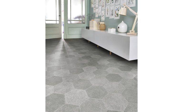 peindre tomettes en gris avec sol vinyle texmark tomette grise