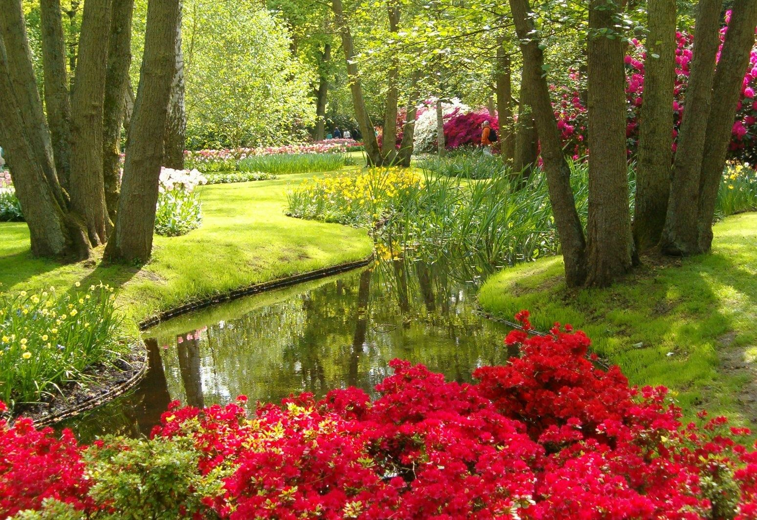 Beautiful flower gardens of the world garden idea for Beautiful flower landscapes