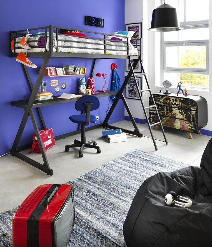 Zac Mezzanines Lits Chambres Meubles Fly Idee Deco Chambre Enfant Deco Chambre Garcon Deco Chambre Ado Garcon