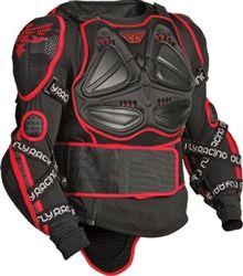 Fly Racing Barricade Body Armor Suit MX ATV BMX Black XL