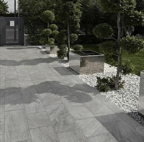 Revêtement terrasse  57 idées d\u0027inspiration pour les sols Gres - Prix Beton Pour Terrasse