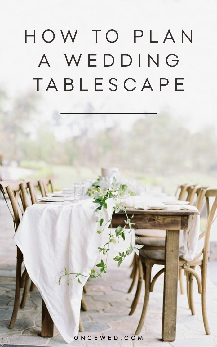 How To Plan A Wedding Tablescape  Centerpieces Wedding Tables