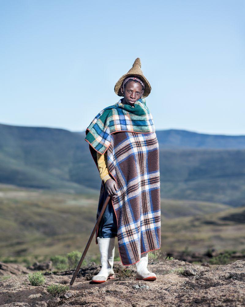 Retselisitsoe, Semonkong, Lesotho. © Thom Pierce, Winner, LensCulture Emerging Talent Awards 2016.