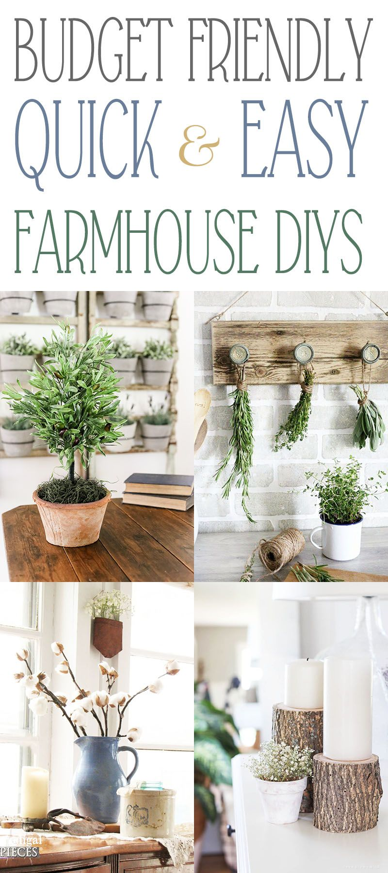 budget friendly quick and easy farmhouse diys diy on fast and easy ways to refresh your home on a budget id=43980