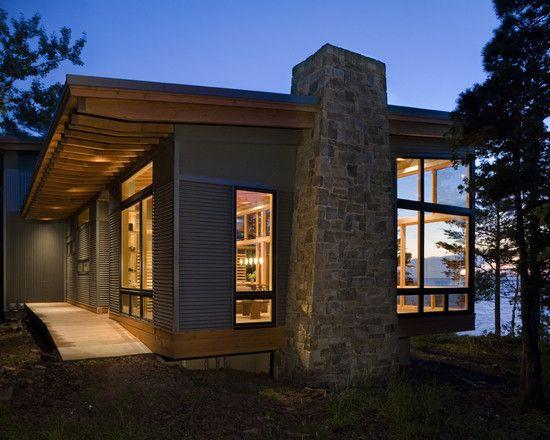 Modern Cottage Interior Design Design Pictures Remodel Decor And Ideas Page 2 Modern Lake House Cabin Design Modern Cottage