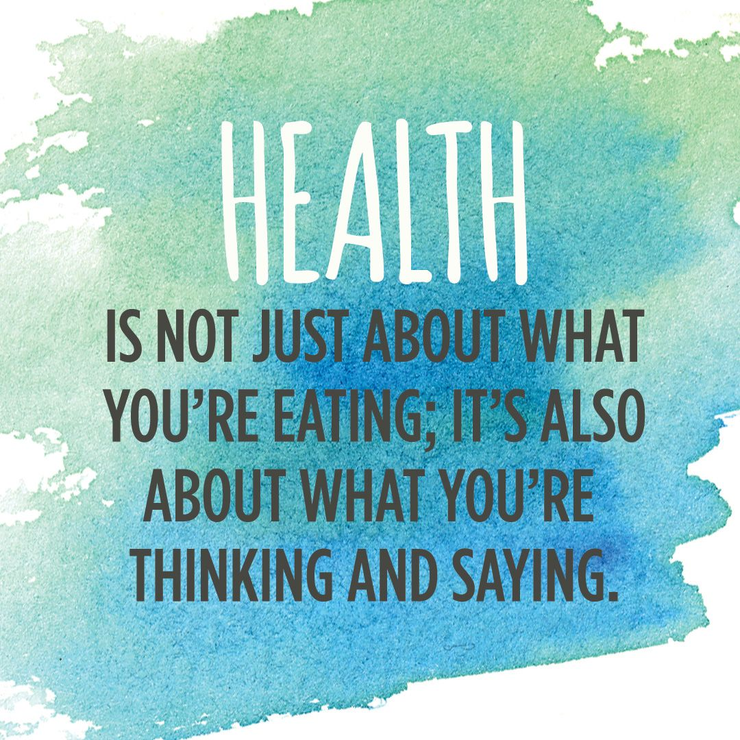 Healthy Life Quotes Health Isn't Just About What You're Eating It's Also About What