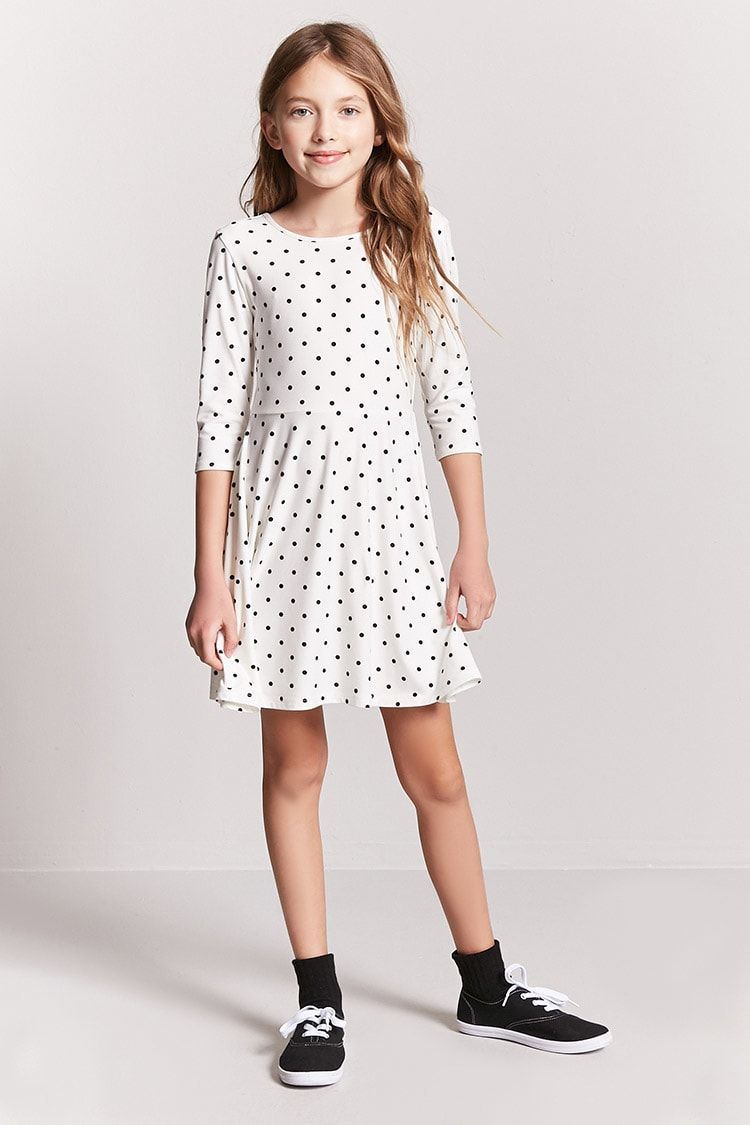 8ba9b2fe77fd Girls Polka Dot Skater Dress (Kids)