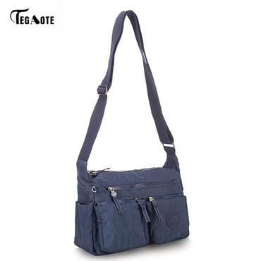 64c20fd260 TEGAOTE Women s Messenger Bags Ladies Nylon Handbag Travel Casual Original Bag  Female High Quality Large Capacity Crossbody Bag