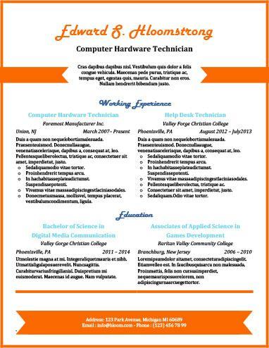 Chronological by Hloom resume templates Pinterest Sample - resume builder uga