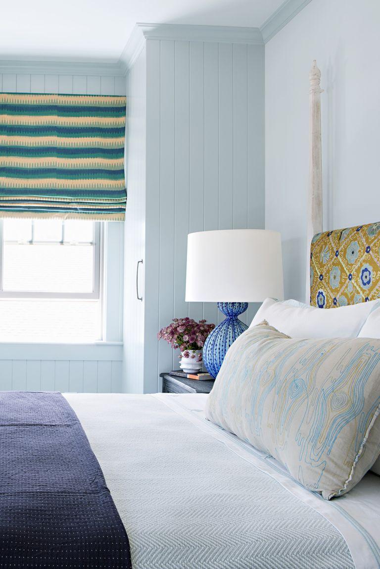 The 20 Coziest Bedrooms Ever in 2020 Blue bedroom decor