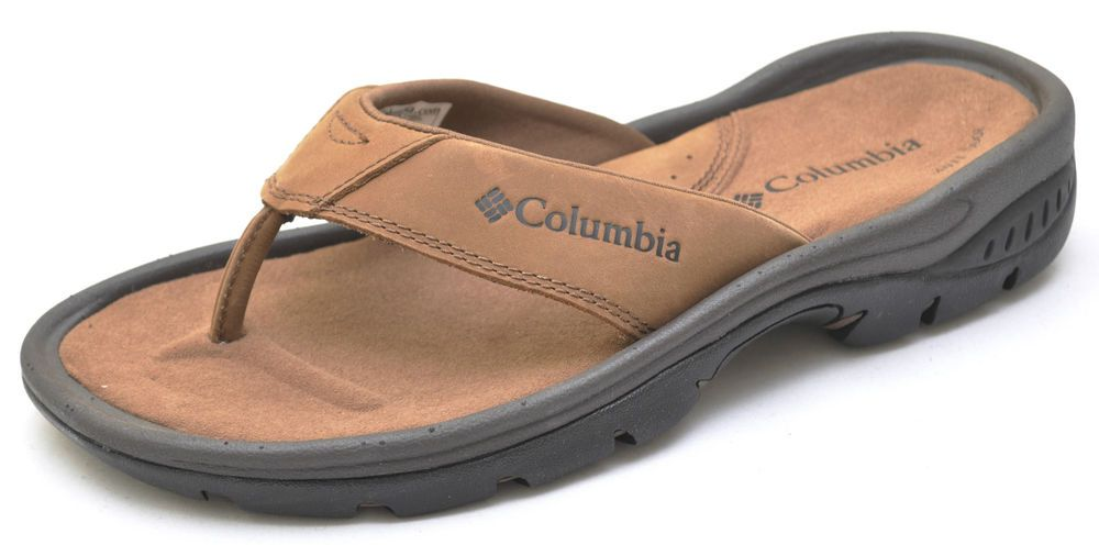 e35f8d48917 Columbia TANGO THONG Brown Sandals Shoes Men s 8 - NEW - BM4077  Columbia   FlipFlops