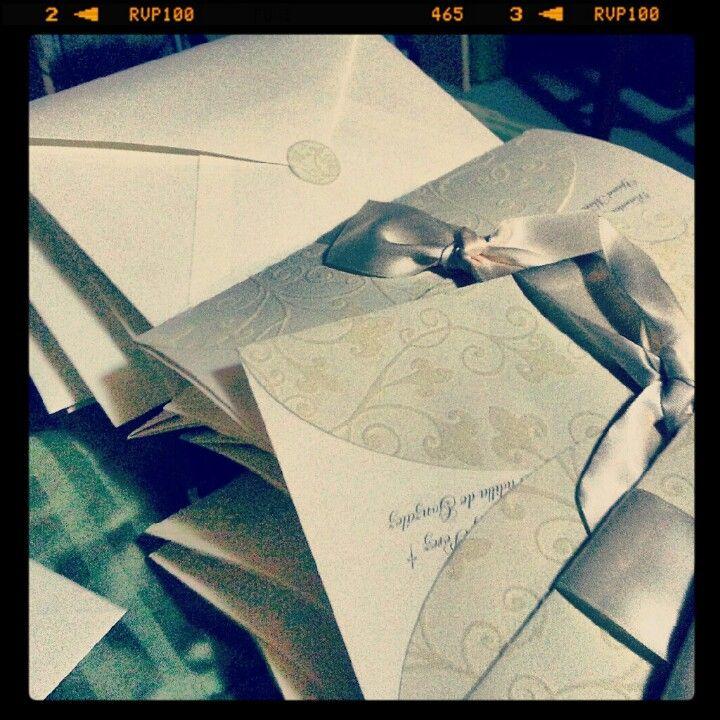 Invitaciones a nuestra boda
