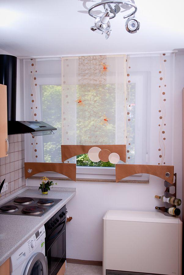 k che bad gardinen liliya gardine pinterest gardinen bad gardinen und k che. Black Bedroom Furniture Sets. Home Design Ideas