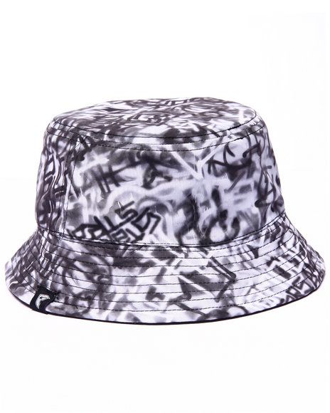 45273b9ab61 The Writer Reversible Bucket Hat by Famous Stars   Straps!