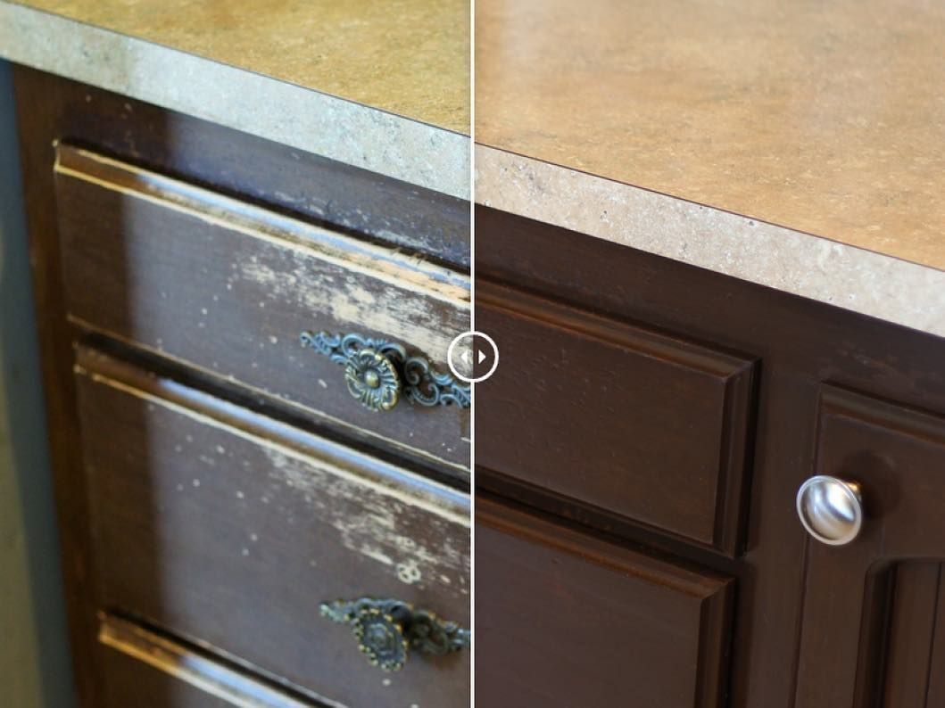 New The 10 Best Home Decor With Pictures Refinish Your Kitchen Cabinets With Rustoleum Cab Kitchen Cabinet Drawers Refinishing Cabinets Cabinet Drawers