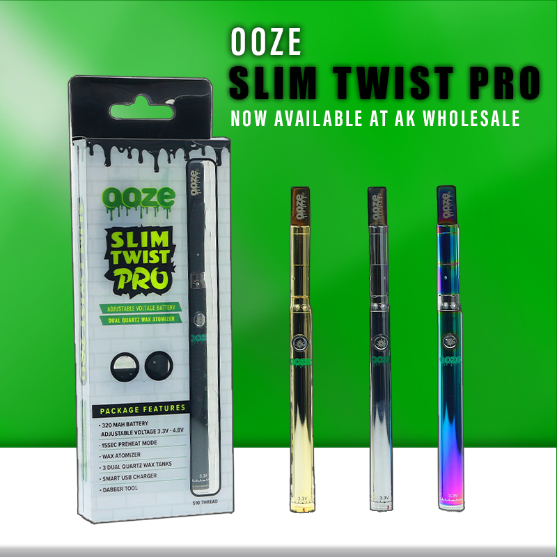 Ooze Slim Twist Pro – Swatfilms