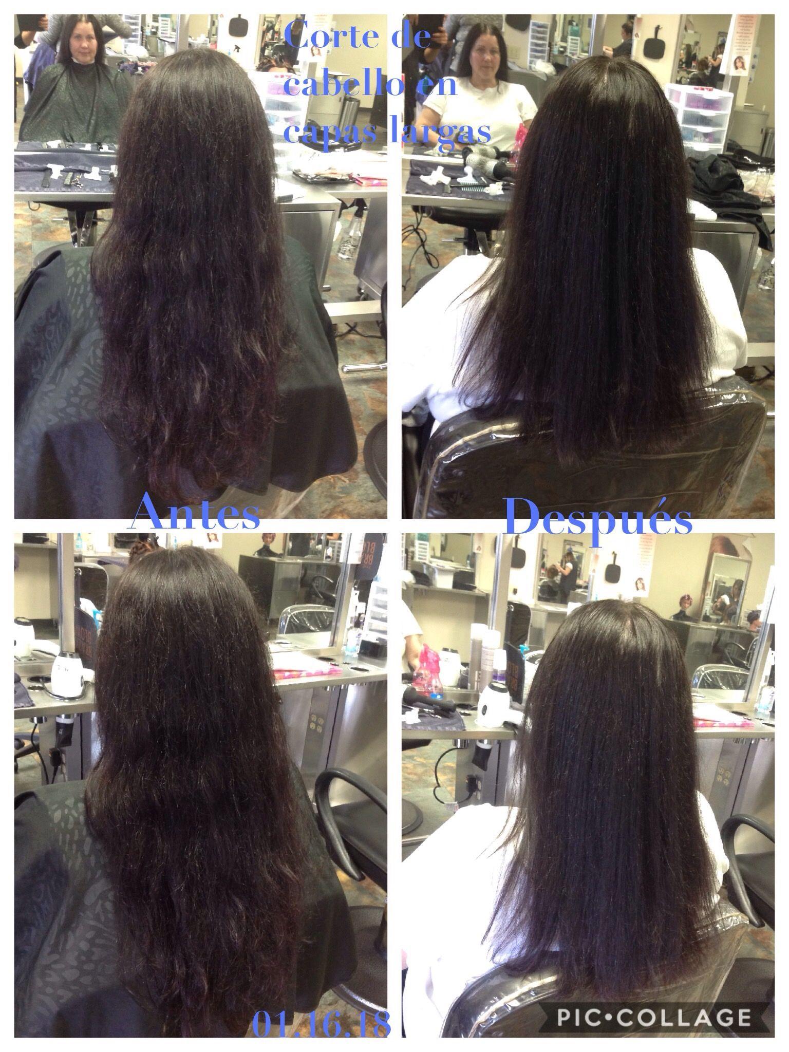 Cortes de cabello de 180 grados