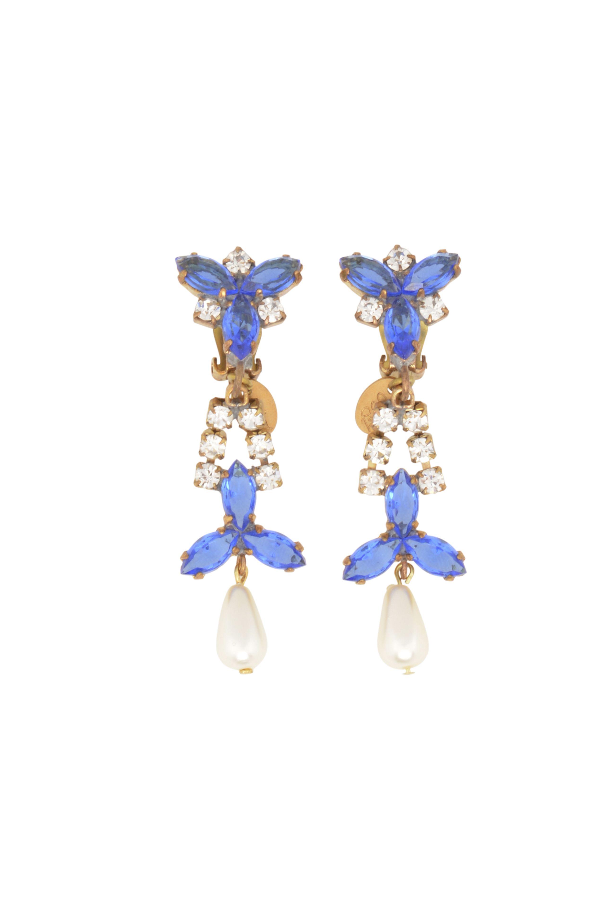 Perlen Ohrringe von Carmen Cita Jones Jewelry im Onlineshop FashionVestis.com kaufen.