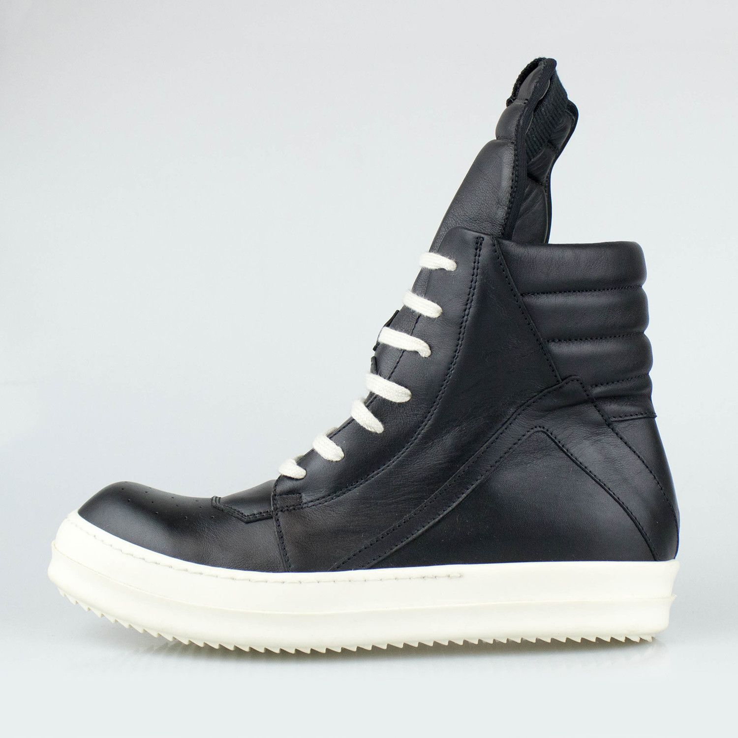 a8c9f4d25f53 Rick Owens Geobasket Sneakers // Black | Leggings Fashion | Pinterest