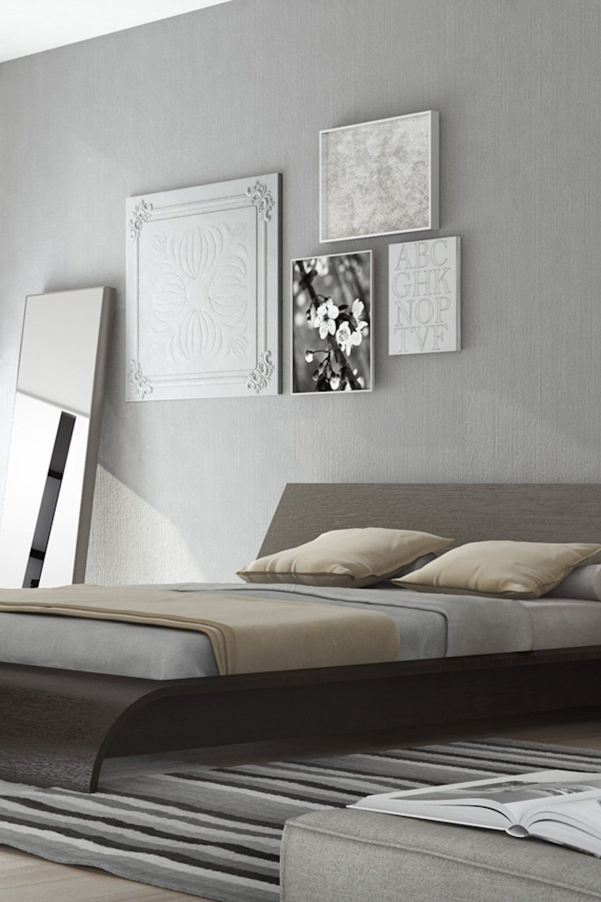 The Breathtaking Waverly Platform Bed Features A