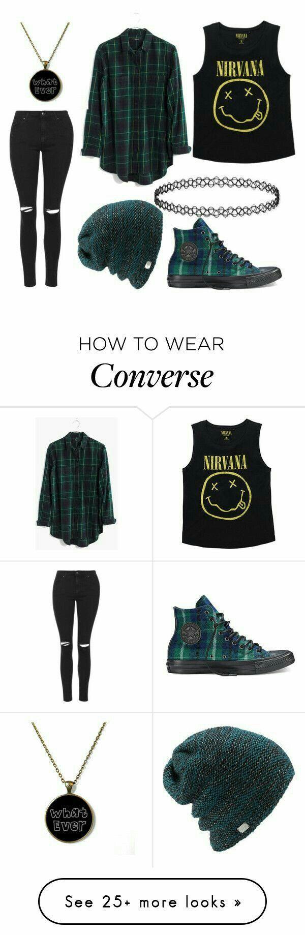 #Ropa #Moda #Outfits #Style #Nirvana #grungeoutfits