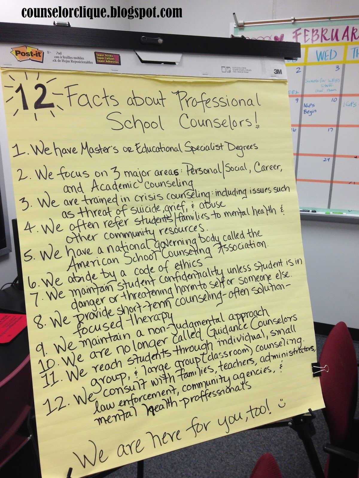 How To Easily Celebrate National School Counseling Week Pinterest