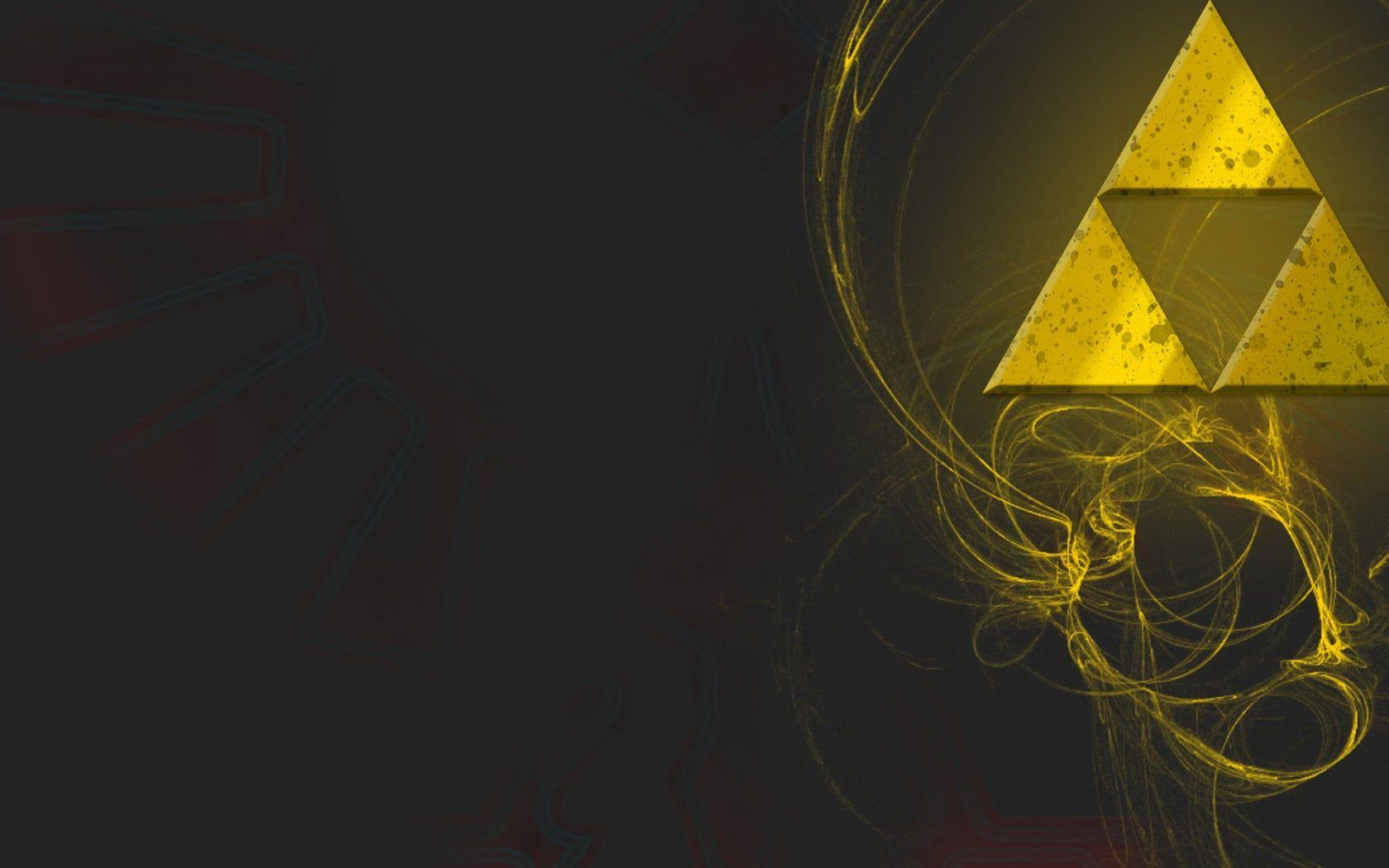 The Legend Of Zelda Logo Digital Wallpaper Triforce Digital Art The Legend Of Zelda Video Games 720p In 2020 Digital Wallpaper Gaming Wallpapers Hd Legend Of Zelda