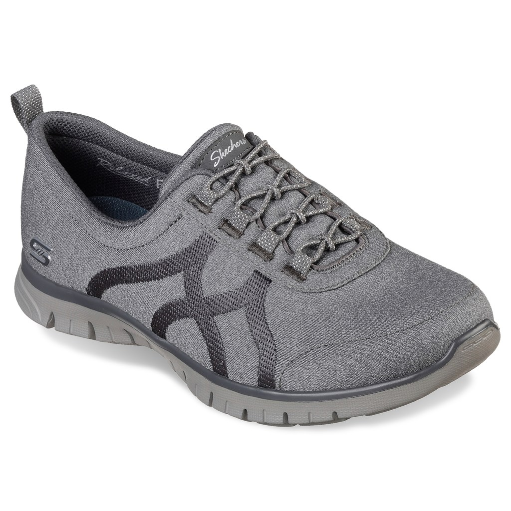 Skechers Relaxed Fit Ez Flex Renew Women S Slip On Shoes