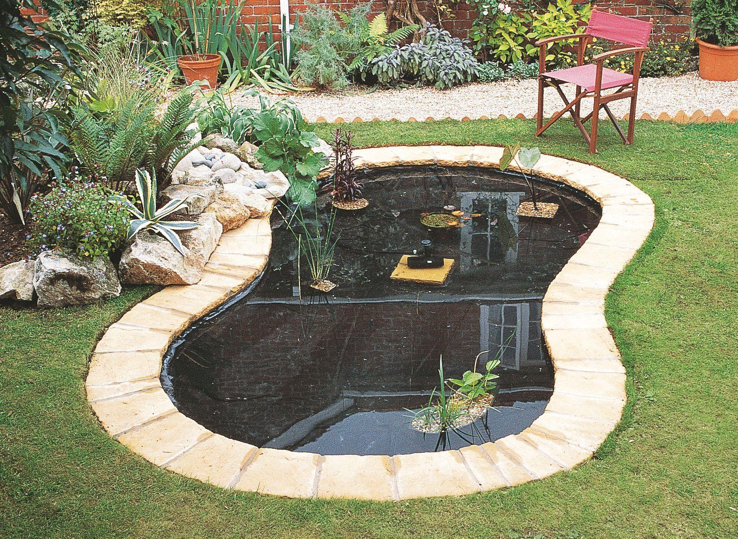 How to create a pond   Help & Advice   DIY at B&Q