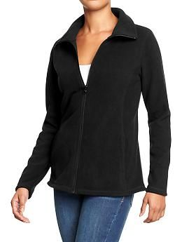 Womens Micro Performance Fleece Zip Jackets | Clothing Work & Play ...