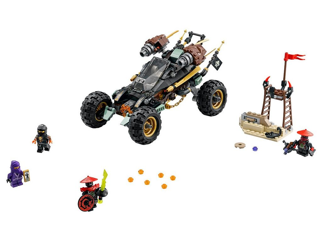 LEGO Ninjago Rock Roader (70589) http://www.flickr.com/photos/tormentalous/26629102596/