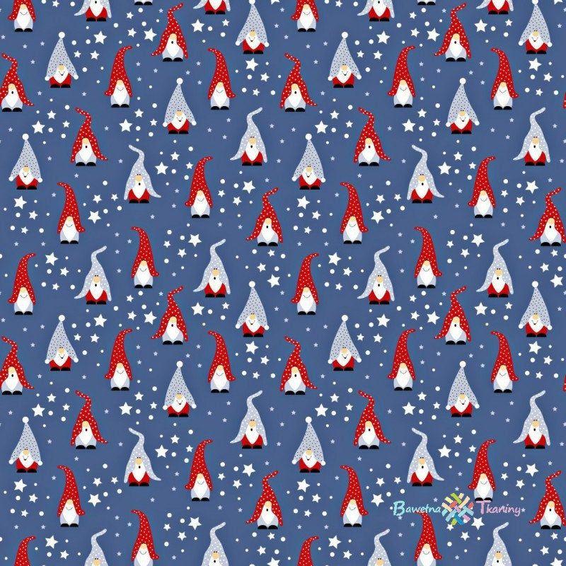 Gnomes Fabric,Christmas Fabric By The Yard,Christmas