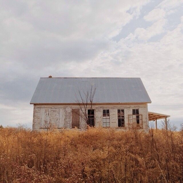 Abandoned Buildings In Amsterdam Ny: One Room Schoolhouse // Route 66 In Missouri