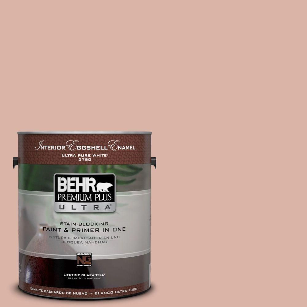 BEHR Premium Plus Ultra 8 oz. #210F-4 Cinnamon Whip Interior ...