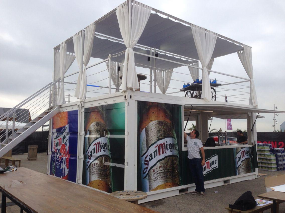 Containers para todas las sedes del mundial de basquet espa a 2014 box coffee by - Casas contenedores espana ...