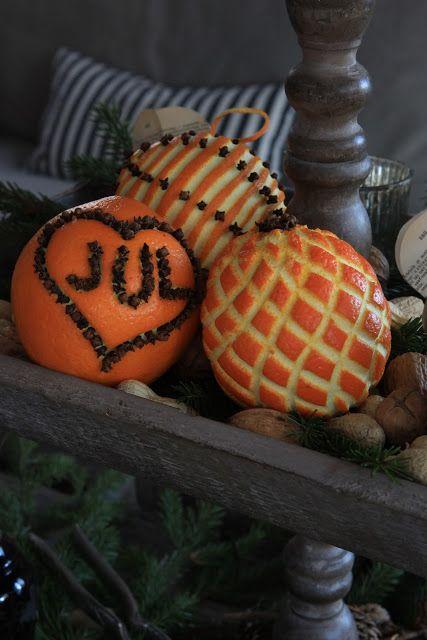 orange jul with cloves