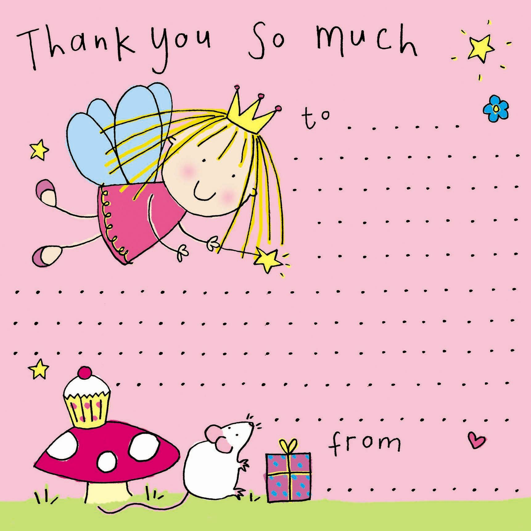 Saying Thank You Just Became Easier With Our Fairy Princess Thank