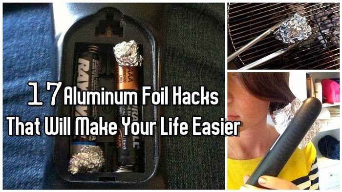 17 Aluminum Foil Hacks That Will Make Your Life Easier