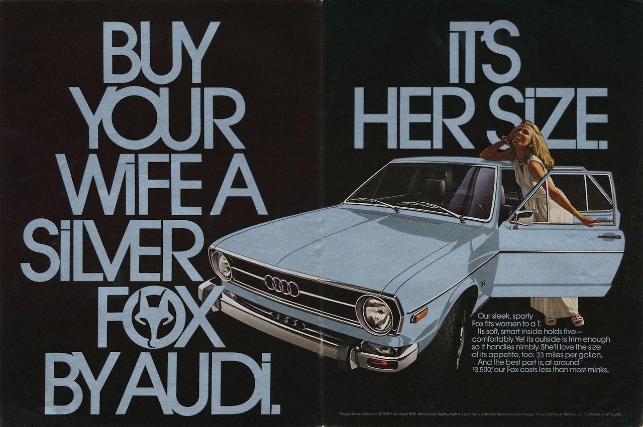 Audi Fox magazine ads - circa 1970's