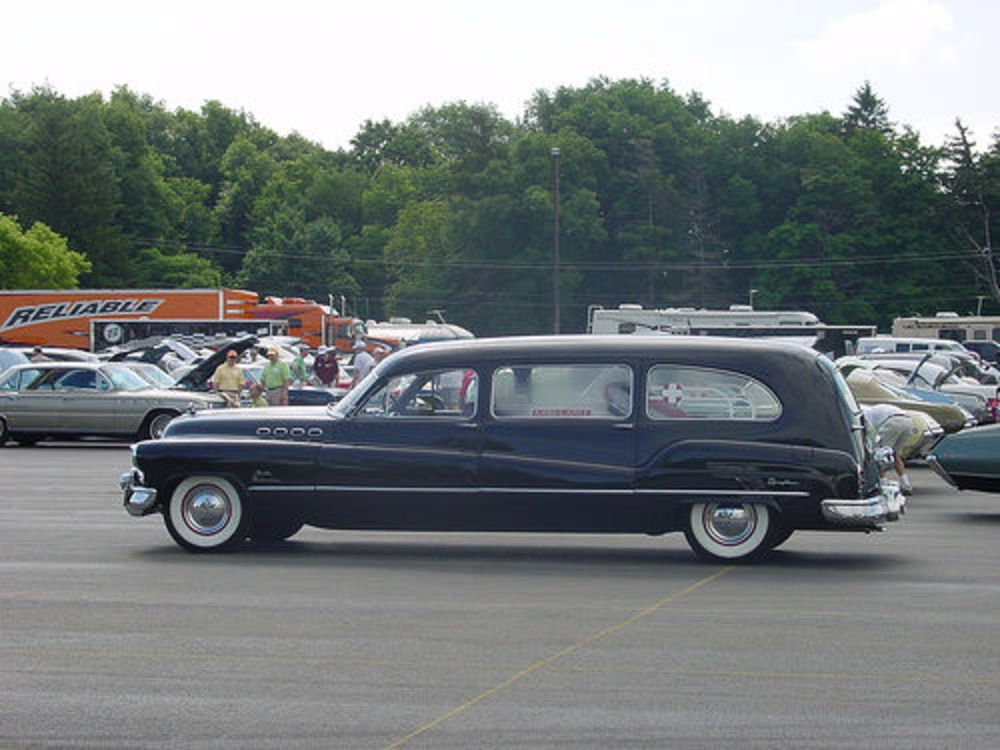 1950's Buick Roadmaster Hearse | Hearses & Funerary Carriers | Buick