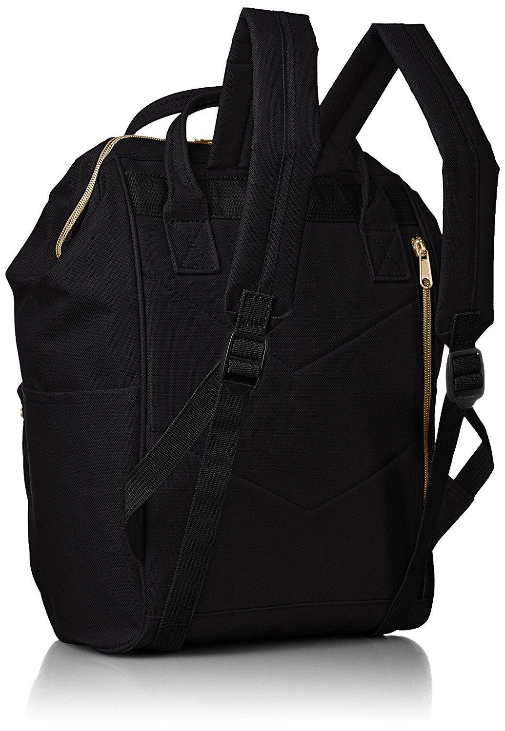 54555fb214e8 anello no.AT-B0197B small backpack with side pockets black -- Check ...