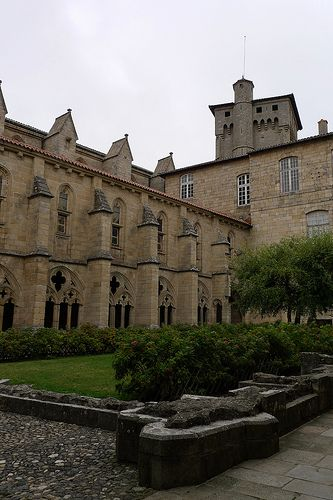 Abbatiale St Robert La Chaise Dieu Haute Loire France France Mansions House Styles
