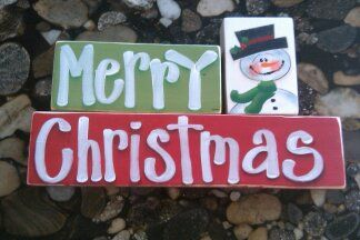 Christmas block set