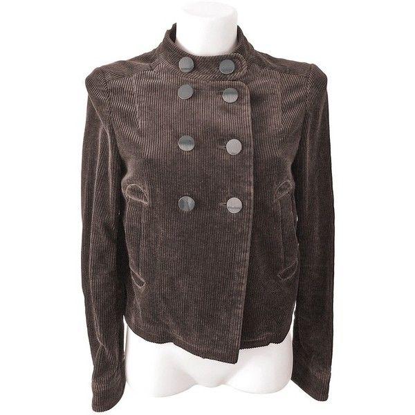 Cord velvet jacket
