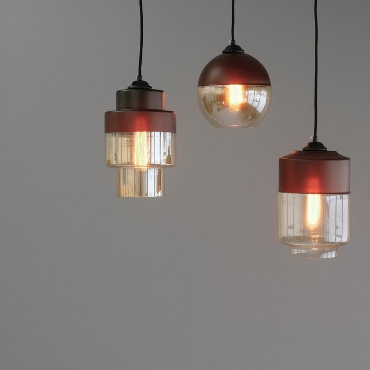 Two Tone Glass Pendant Lights Coffee Worthynzhomeware Wwworthy