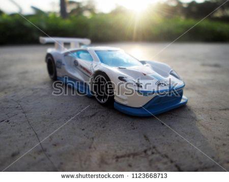 Kediri Indonesia June   Hotwheelscast Model Car Hotwheels Cast Made In Malaysia This Is  Ford Gt Racecast Car
