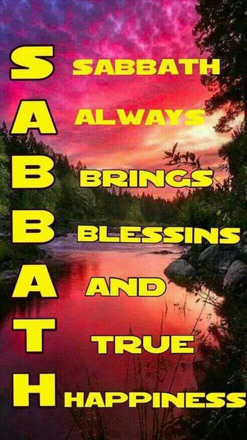 Happy sabbath wishes